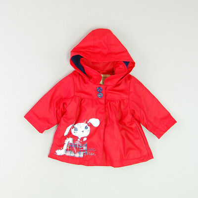 Impermeable color Rojo marca Tuc Tuc 9 Meses