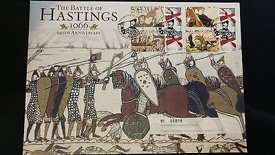The Royal Mint Battle of Hastings 2016 50p BU PNC Limited edition
