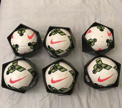 NEW Nike Incyte (Lot Of 6) FIFA Official Match Soccer Ball Lot SIZE 5  MSRP $900
