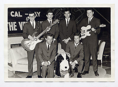 CAL-JAY & THE VERMONTS vintage 5x7 FB photograph Sixties 1960s Garage Rock