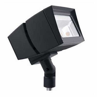 RC Lighting Floodlight Outdoor LED Fixture FFLED39 Cool Light 5100K 39W Bronze