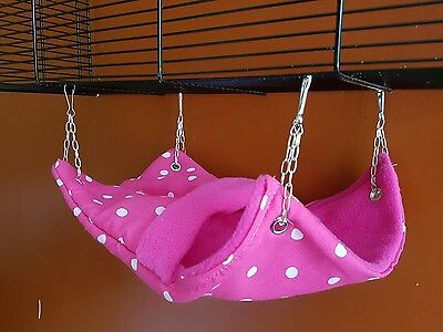 snuggle pouch hammock for rats,chipmunks or degus