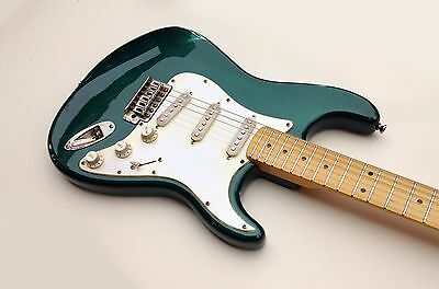 Fender Squier Stratocaster Sherwood Green Vintage Modified Relic Guitar