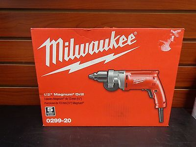 "New Milwaukee 0299-20 1/2"" Magnum Corded Drill"