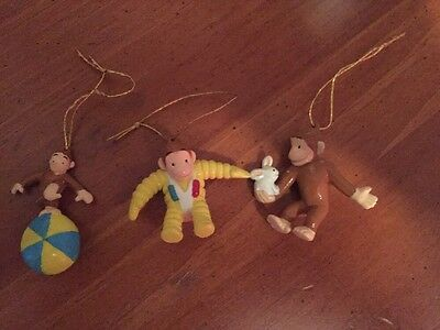 Curious George Ornaments