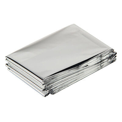 1 x foil soace blanket emergency survival blanket rescue first aid camp S2I6
