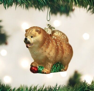 Chow Chow (12497) Old World Christmas Ornament