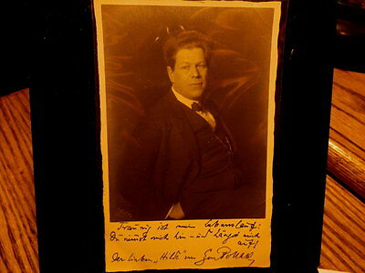 #8400,Unidentified German Music Person,Real Photo, @1925,Signed Cd