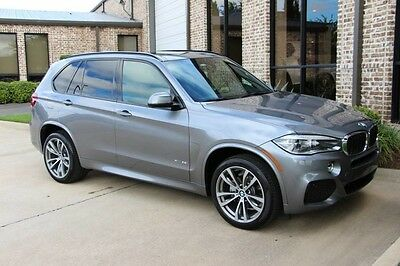 2014 BMW X5 xDrive35i Sport Utility 4-Door pace Gray M Sport Luxury Seating Premium Driving Assistance 4 Zone 20s Warranty