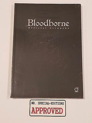 Bloodborne Official Artworks by Sony Paperback NA English Version New Sealed