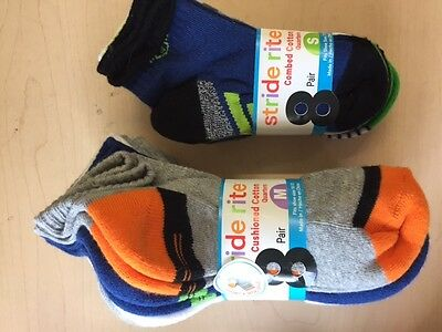 Kids Stride Rite Boys Socks - 8 Pack Variety!