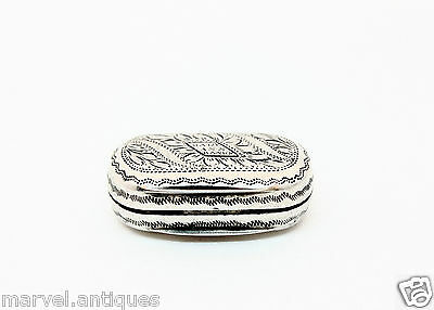 Antique Georgian Silver Vinaigrette - 1814