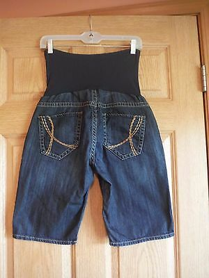 !it Jeans size 31 A Pea in the Pod maternity shorts, Bermuda/walking Denim, VGUC