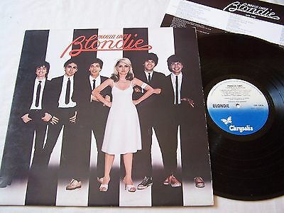 Blondie - Parallel Lines With Inner ~ 1978 Uk 12 Track Vinyl Album ~ Ex