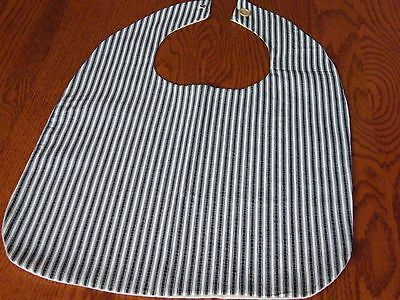 Adult Bib Clothing Protector Handmade Sewn Elderly Handicapped Disabled
