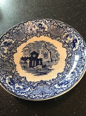Abbey 1799 Antique Dish Stone Ware C1901