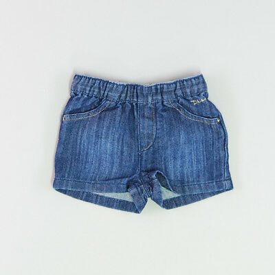 Shorts color Denim oscuro marca IKKS 12 Meses