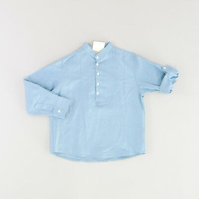 Blusa color Azul marca The First outlet 6 Años
