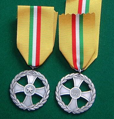 Full Size ORIGINAL Medal for the Liberation of Kuwait Italian issue.