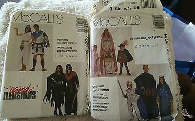 McCalls fancy costume patterns