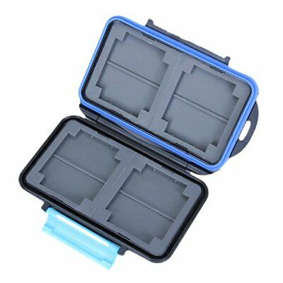 Memory Card Carrying Case Holder Hold 4 CF or 8 SD M1S3