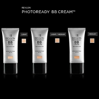 REVLON PHOTOREADY BB CREAM SKIN PERFECTOR SPF 30 - choose your shade