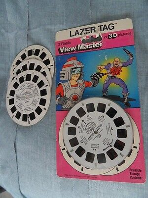 Viewmaster Ulysses 31 Lost Planet and Lazer Tag UNOPENED x 6 reels 42 3D pics