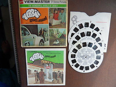 Viewmaster Herbie Rides Again 21 pics from film
