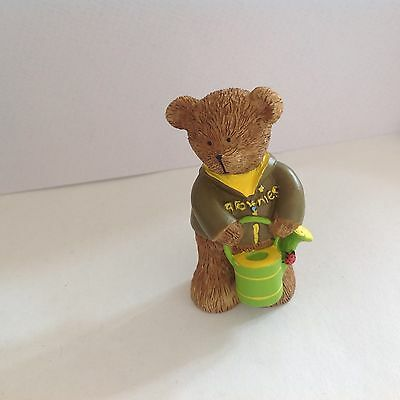 Brownie Gardener Resin Discontinued Girl Guiding Product