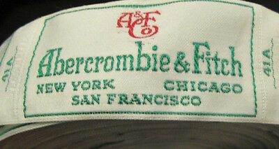 Vintage Pre 1975 Roll Of Abercrombie & Fitch Labels