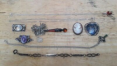 Small Collection of mixed Sterling Silver Jewellery