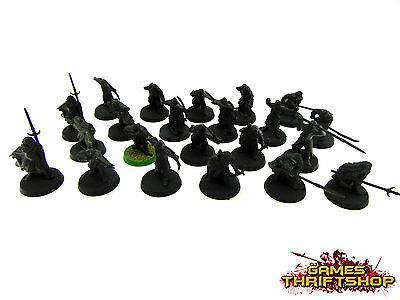 Warhammer 40k Lord of the Rings LOTR Haradrim Warriors x 22 Primed Black
