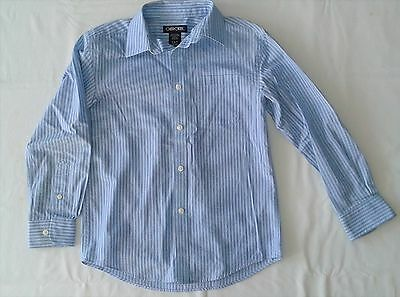 Cherokee Boys Size S 6/7 Button Down Long Sleeve Shirt