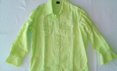 Gap Kids Boys Size S 6/7 Button Down Long Sleeve Shirt
