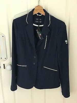 BNWT Navy Equiline Charlotte Ladies Show Jacket Size 44