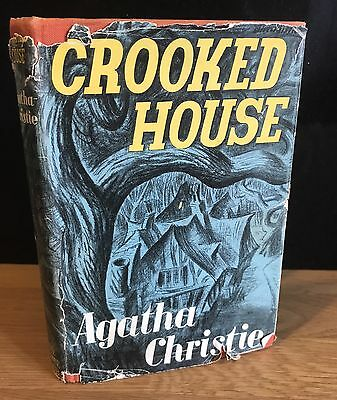 CROOKED HOUSE - Agatha Christie - 1949 FIRST EDITION