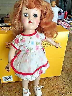 VINTAGE Ideal Toni  Marked P-90 DOLL With Strawberry Blonde Hair in EUC