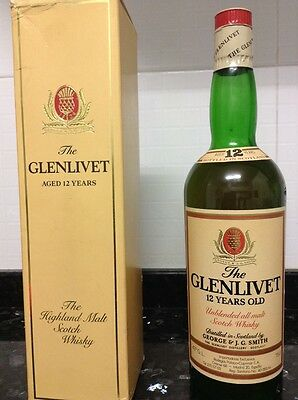 The Glenlivet Aged 12Years The Highland Malt Scotch Whisky