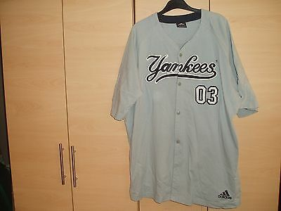 New York Yankees Baseball Shirt Mint Condition 03 On The  Front In A Size Large