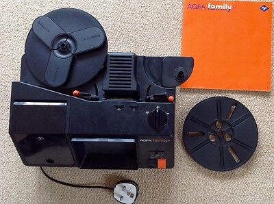 Vintage Agfa Family P Super 8mm Cine Film Projector