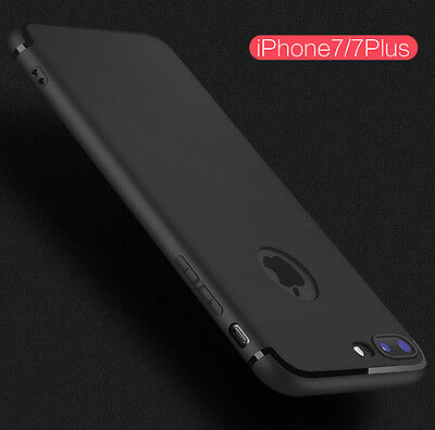 Shockproof Thin Slim Rubber TPU Soft Protective Back Case Cover Skin for iPhone7