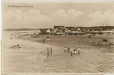 EXMOUTH,THE BUNGALOWS- RP- DEVON-dc597