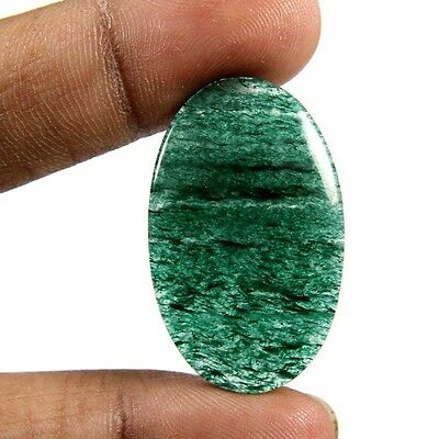 28.60ct Marvelous Quality Natural Green Aventurine Cabochon Oval Loose Gemstone