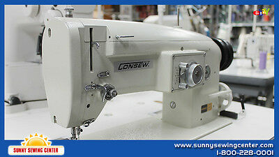 CONSEW 199R-2A Three Step Zig Zag Sewing Machine, Complete, JAPAN