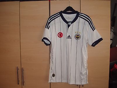 Fenerbahce Football Shirt Mint Condition Size Small Adults Ulker On Back