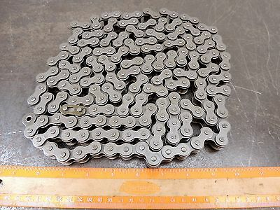 """RC-50 Roller Chain with Master Link ANSI 50-1RX10FT 10' Roll 5/8"""" Pitch RC50"""