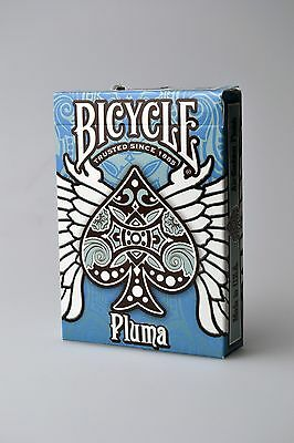 Bicycle Playing Cards  *PLUMA*  BLUE. QTY:1 PACK. New Sealed.