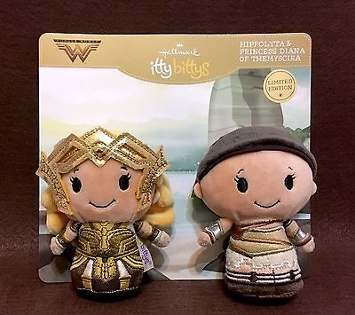 Hallmark Itty Bitty Bittys Wonder Woman Amazon Warrior Set ~ DC Comics LE NWT
