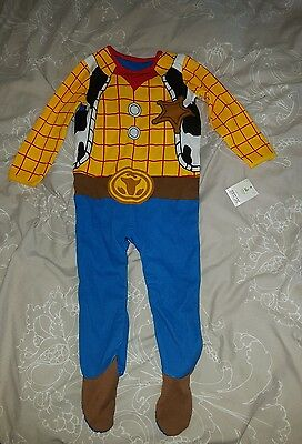 12-18 Months Woody Toy Story Sleepsuit