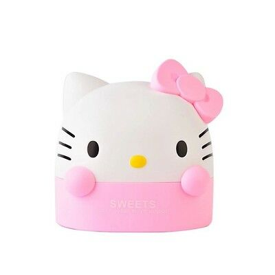 NEW Hello Kitty Cute Roll Paper Holder Tissue Box Stand Cartoon Bathroom Toilet